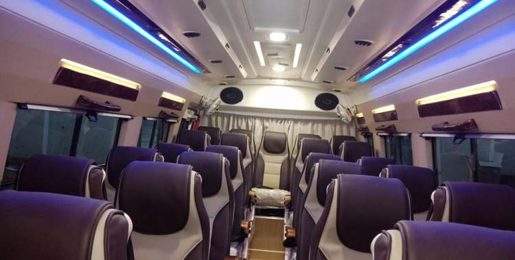 16 Seater (12+Sofa )+ D  Tempo Traveller hire in Delhi