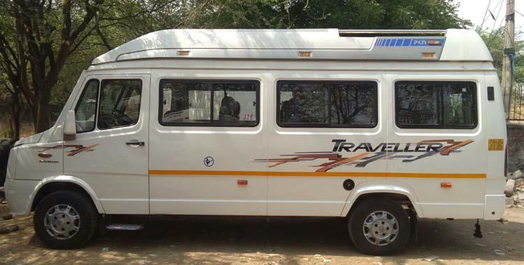 20+D  Tempo Traveller  hire in Delhi