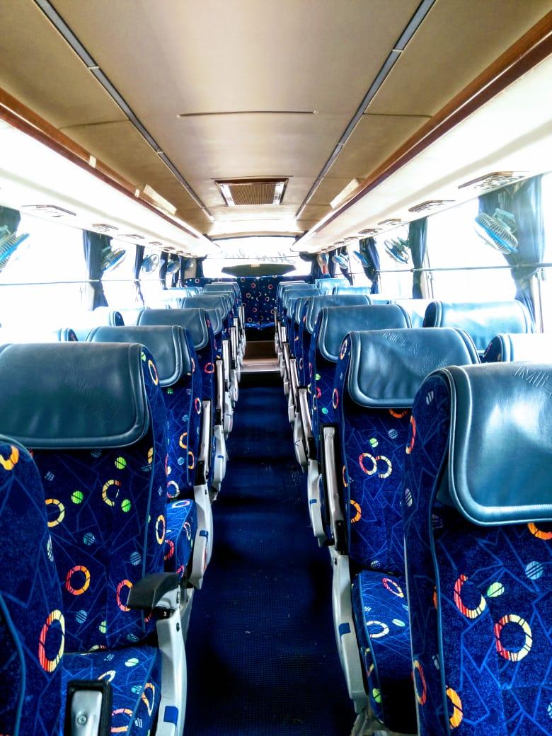 45 Seater Luxury Bus ASM hire in Delhi