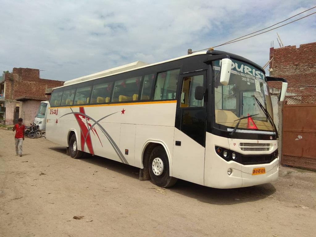 45 Seater Luxury Coach air suspension hire in Delhi