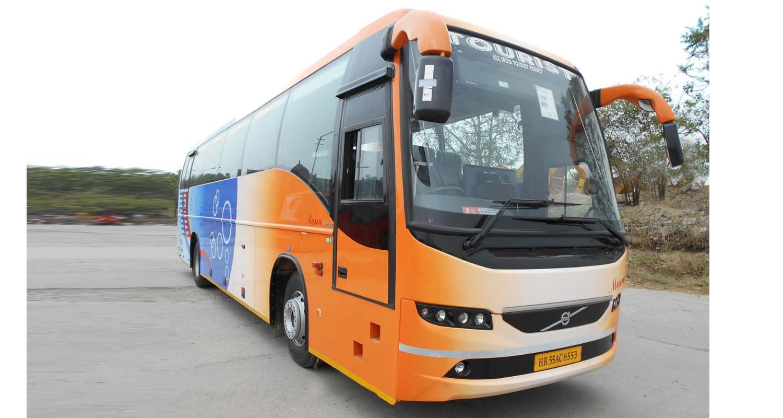 Volvo 45 Seater Luxury Coach hire in Delhi