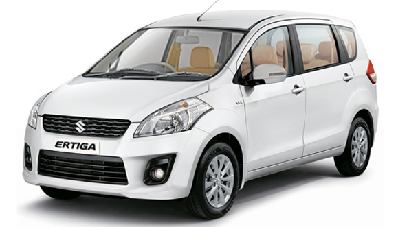 Bolero, BR-V, Duster, Ertiga, Marazzo, Mobilio, Vitara Brezza on rent in delhi