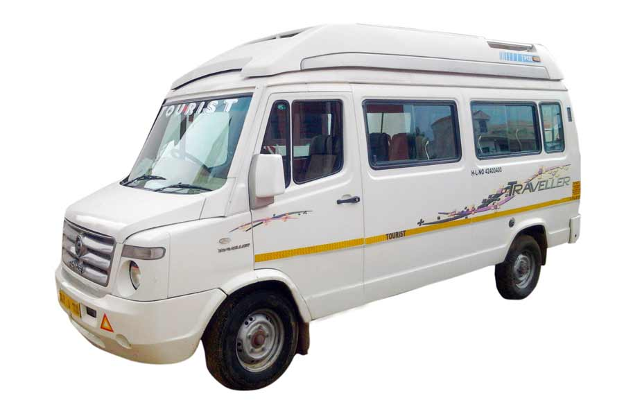 1x1 9 Seater Deluxe Tempo Traveller