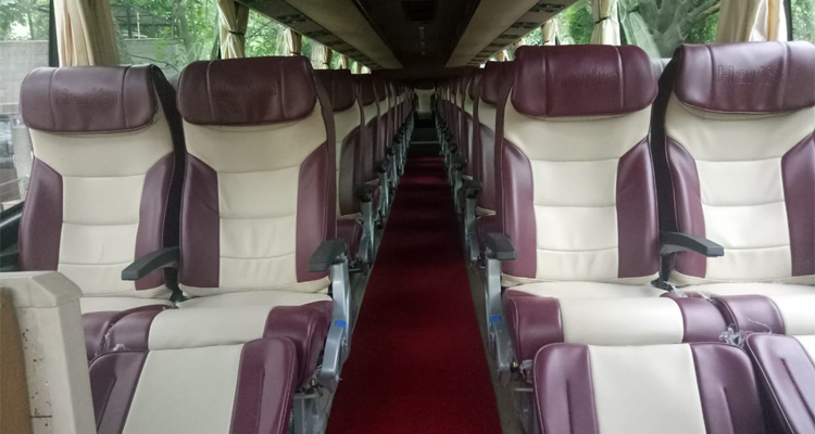 Volvo 49-Seater Multi Axle Luxury Coach  hire in Delhi