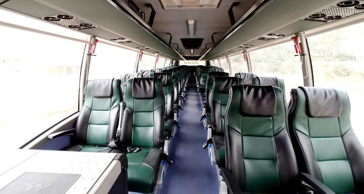 45 Seater Volvo hire in Delhi