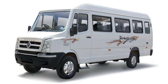 12 Seater Deluxe Tempo Traveller on rent in delhi