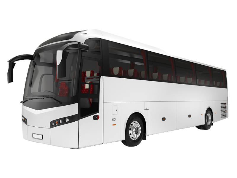 Volvo 41-Seater +Washroom Luxury Coach on rent in delhi