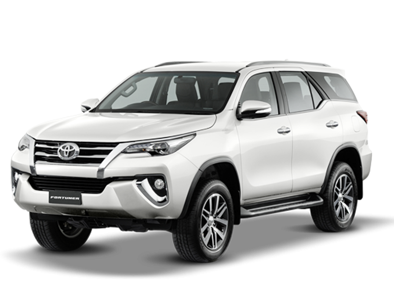 New Fortuner 2018 , Safari Storme on rent in delhi