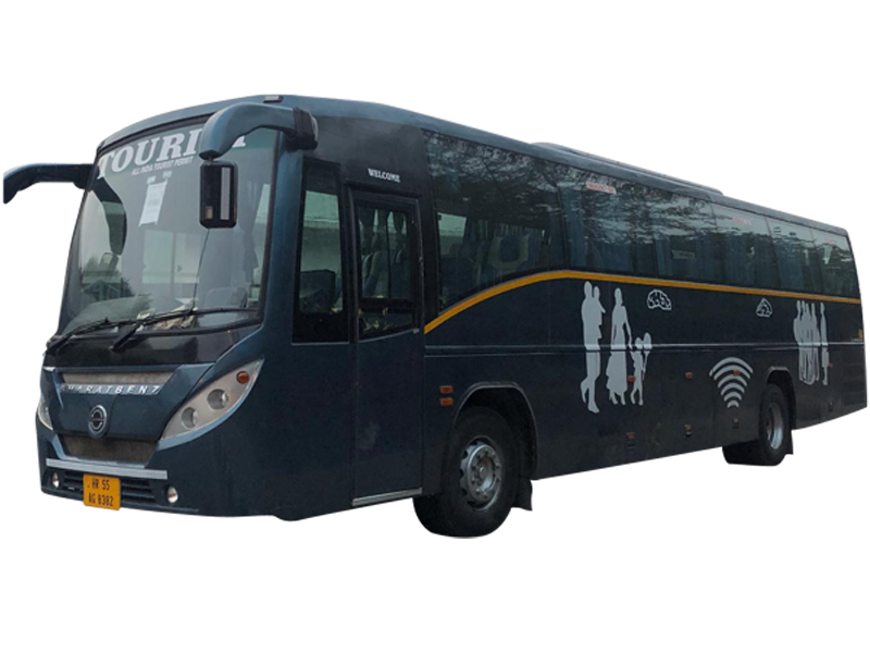 Bharat Benj 44 Seater with washroom Luxury on rent in delhi